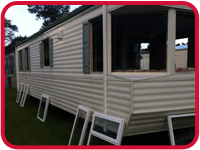 Static Caravan Double Glazing